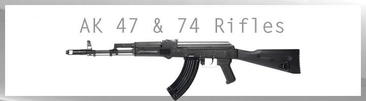 AK47 / AK74 Rifles