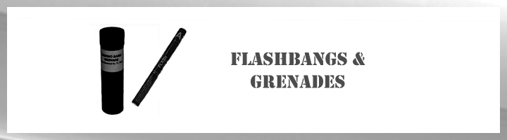 Flashbangs & Grenades