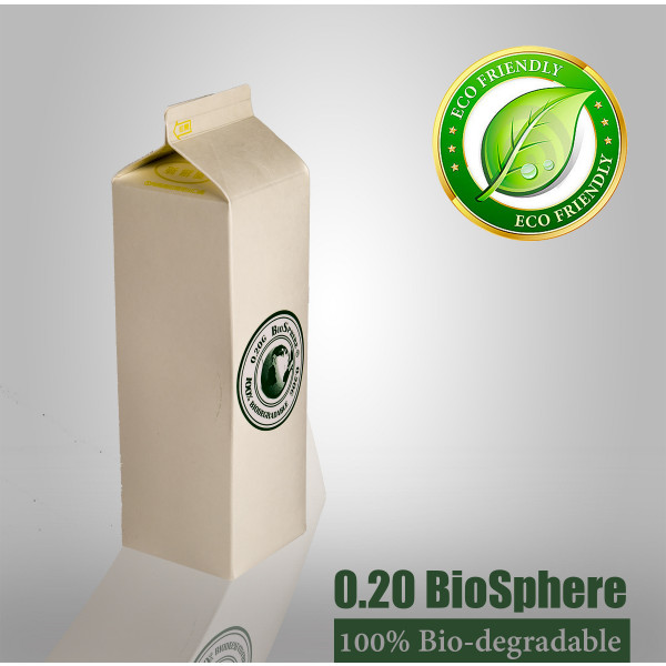 BioSphere® Precision 5.95mm BB's 0.20g (5000) White Bio-carton