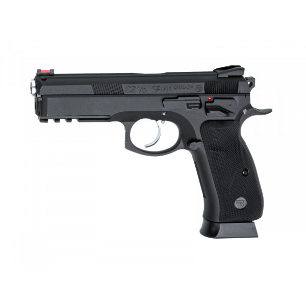ASG Branded KJ Works CZ 75 SP-01 Shadow GBB Pistol - Black