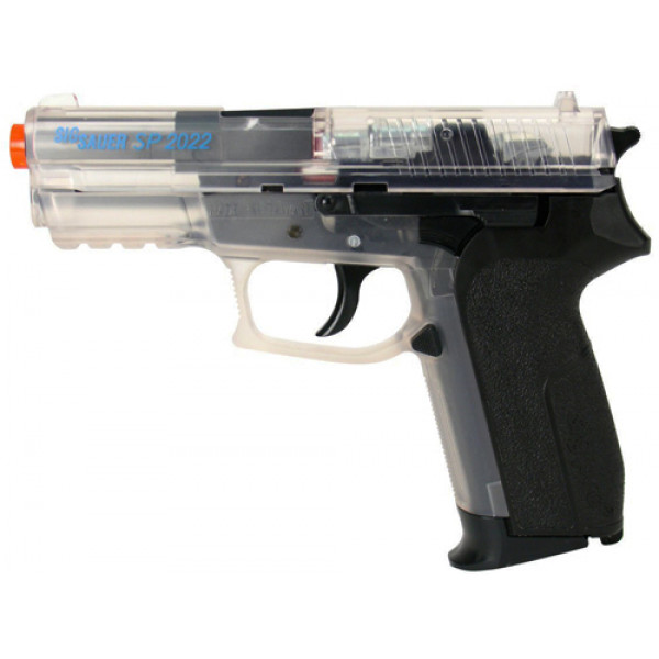 KWC SIG SAUER SP2022 CO2 Airsoft Pistol - Clear (Two-tone)