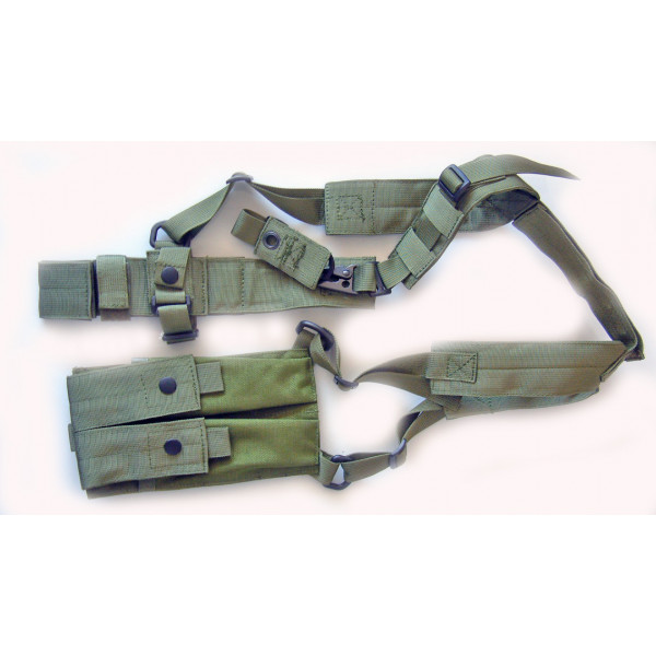 CoverT Machine Pistol Shoulder Holster - MP7 / MP5K / Skorpion / UZI