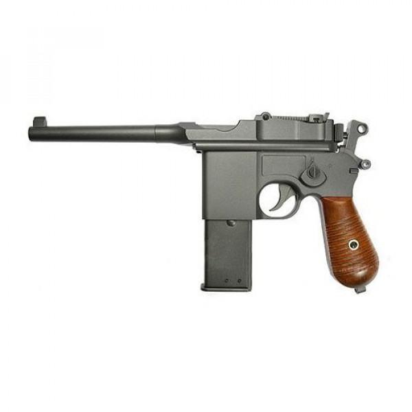 KWC M712 Broom Handle Mauser CO2 Airsoft Pistol