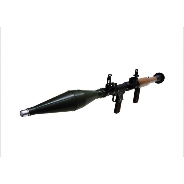 RMW RPG-7 full metal and faux wood airsoft replica rocket launcher