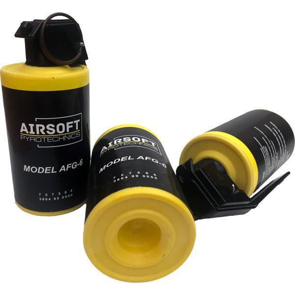 NEW! TAG Innovation AFG-6 Airsoft Flash-bang Pea Grenade - Single Grenade