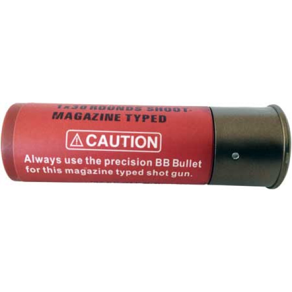 Shotgun 30rd Shell Cartridge (Single) *New improved - Fit M56 style as well