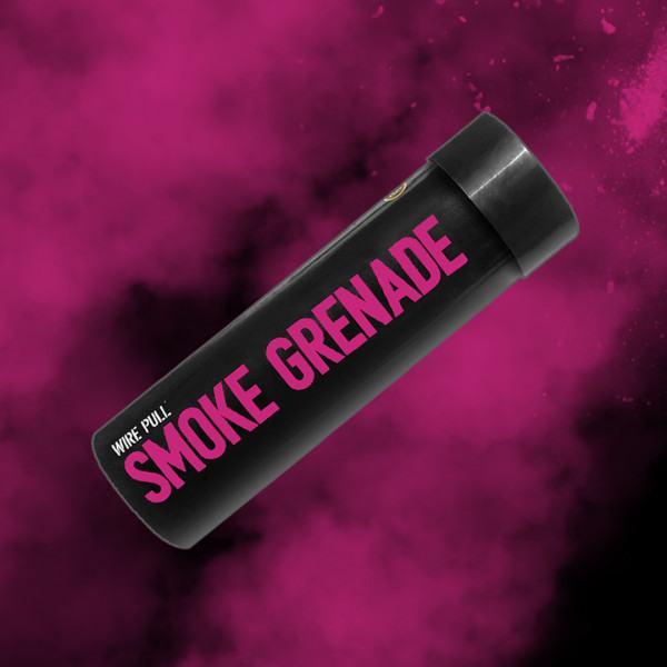 Enola Gaye WP40 Ring-Pull Coloured Smoke Grenade - Pink