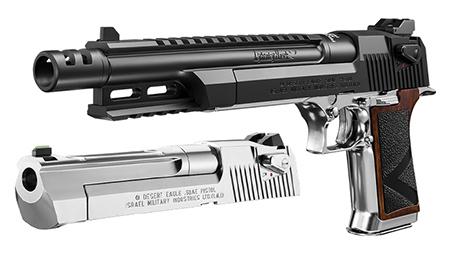 Tokyo Marui Biohazard Lightning Hawk. 50 AE 10 inch Magnaport Custom (Umbrella Corporation / Resident Evil) - Airsoft Pistol