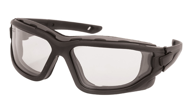 Valken V-Tac Zulu Goggles - Black / Clear