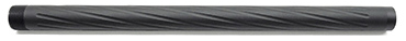 Action Army T10 Twisted Custom Outer Barrel - SHORT Black