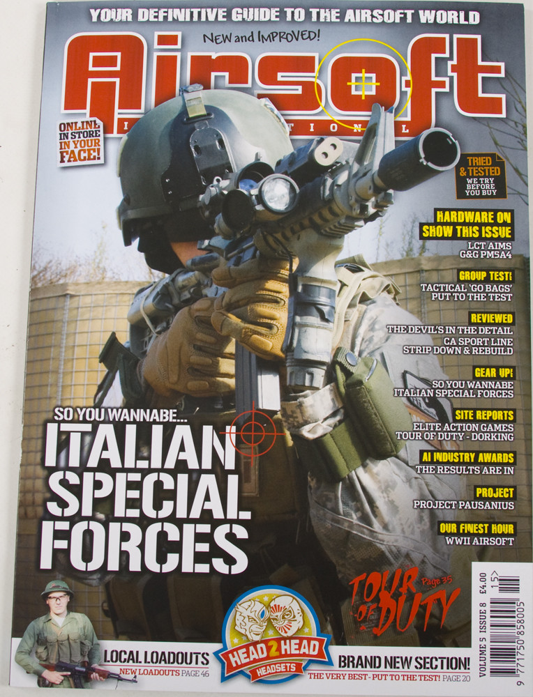 Airsoft International Volume 5 Issue 8 (January 2010)