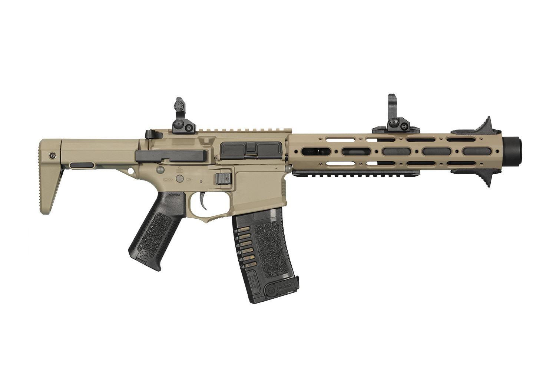 """ARES Amoeba """"Honey Badger"""" AM-013 Airsoft Rifle - Tan"""