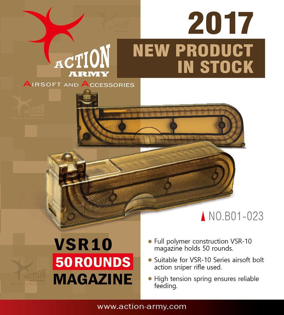 Action Army Tokyo Marui VSR-10 magazine 50rd