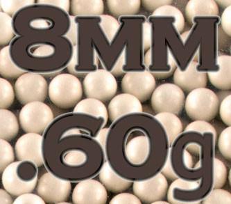 8mm Precision BBs 0.60g (1000)