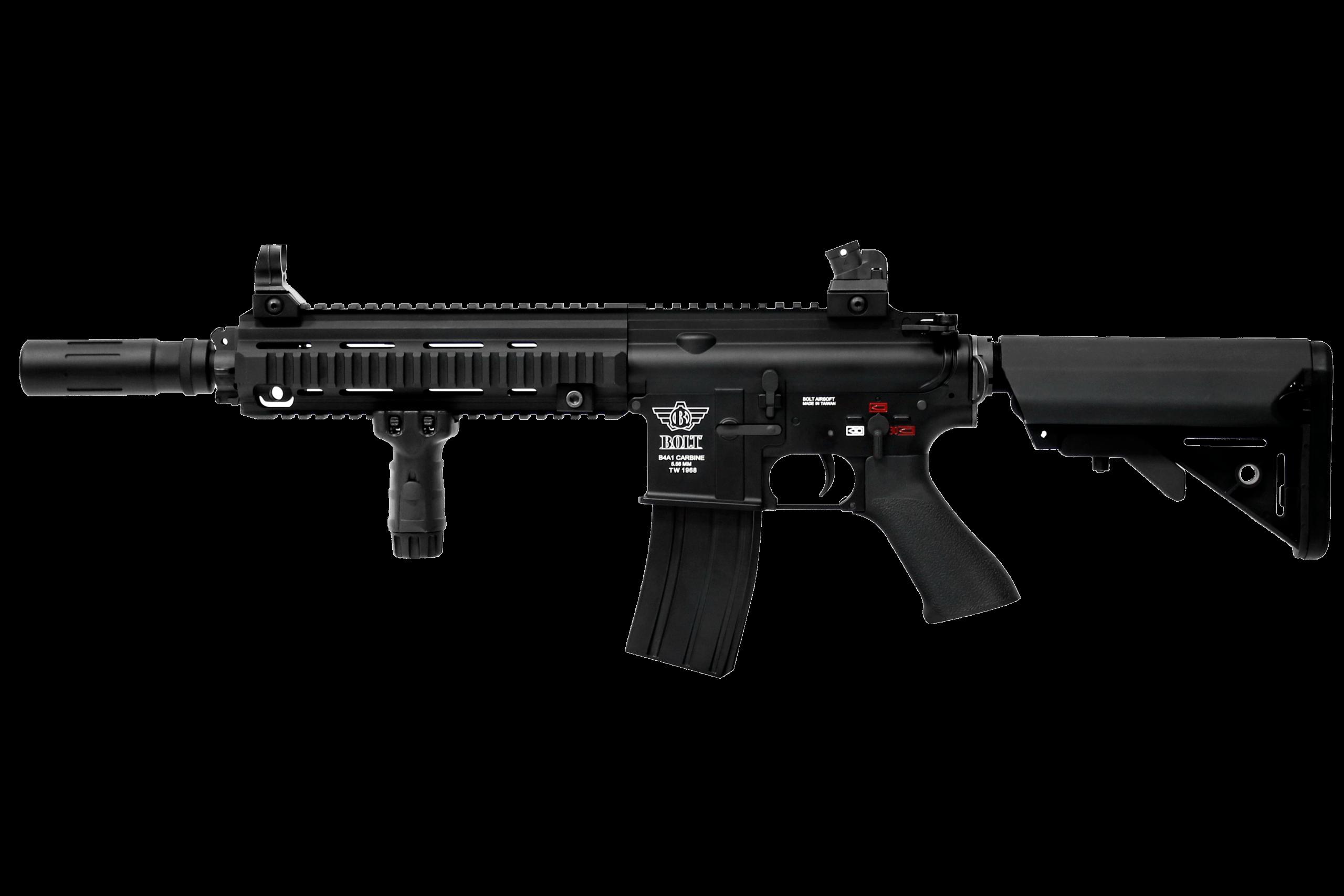 Bolt B4 DEVGRU Suppressed (Short) - Airsoft Rifle