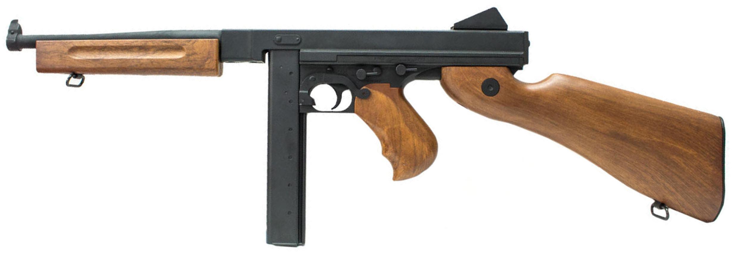 CYMA CM.033 M1A1 Thompson Sub-Machine Gun AEG Airsoft Rifle