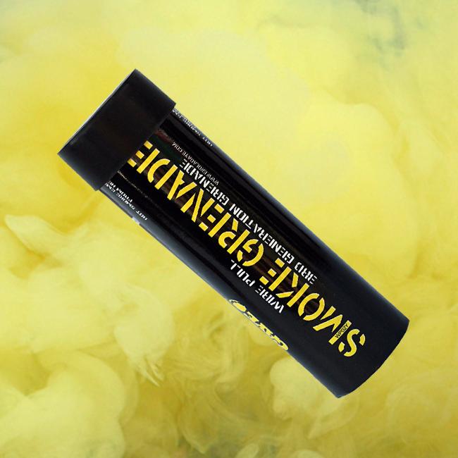 Enola Gaye WP40 Ring-Pull Coloured Smoke Grenade - Yellow