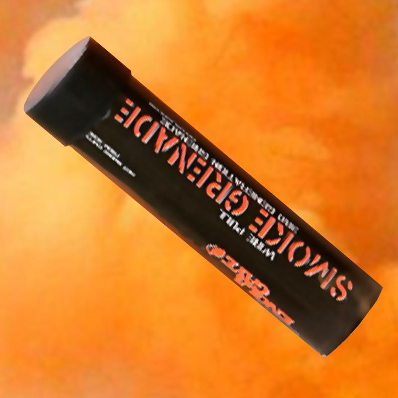 Enola Gaye WP40 Ring-Pull Coloured Smoke Grenade - Orange