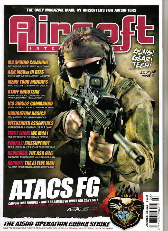 Airsoft International Volume 8 Issue 2 (July 2012)