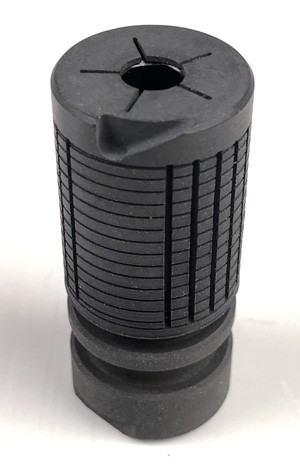 Knights Armament style steel flash hider 14mm CCW