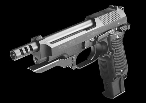 ASG Branded KWA M93R with NS2 gas system