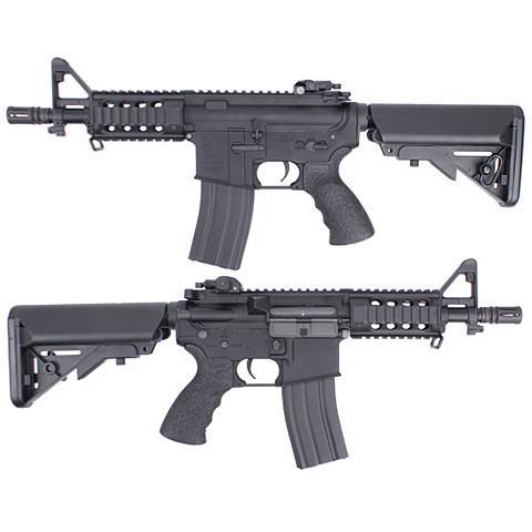 King Arms M4 Tanker Rifle Ultra Grade - Black -  Airsoft AEG