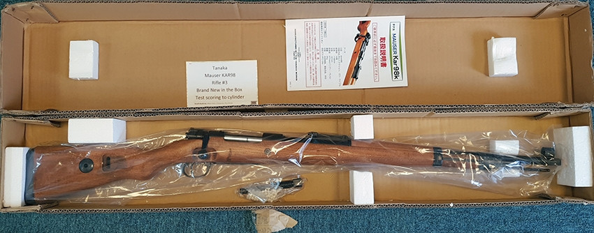 Tanaka Mauser Karabiner 98K (KAR98) Airsoft Rifle #3 - New Old Stock