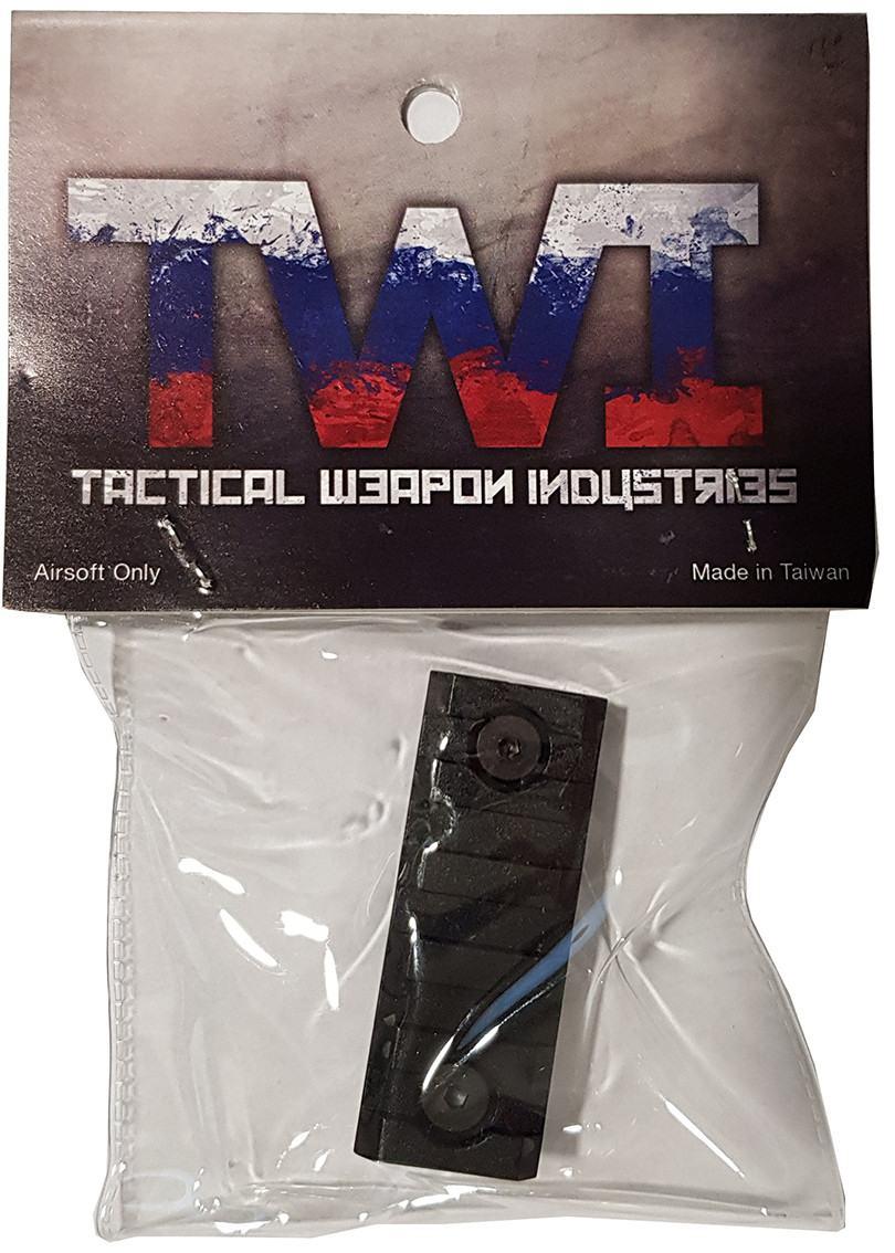 TWI Keymod Additional Rail Piece for VS-24/VS-25 (1 Pack) - Black