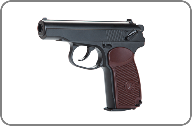 KWC Makarov PM Styled GBB CO2 Airsoft Pistol - YES! GAS BLOWBACK! :)