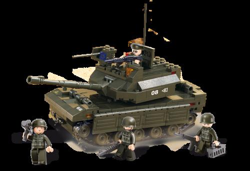 SLUBAN Lead Tank M38-B6500