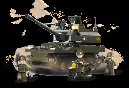 SLUBAN Leopard Tank M38-B9800