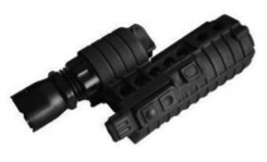 Element M500A Illuminated front end for M4 rifles - Black