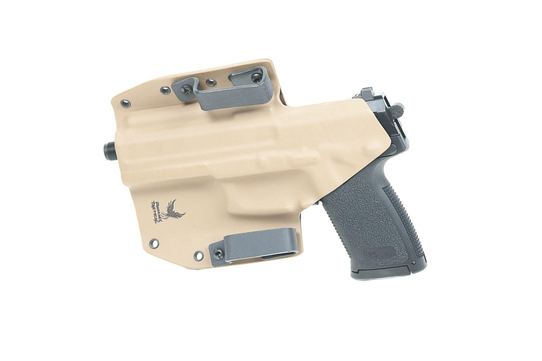 Phoenix Tactical H&K Mk23 Pistol Kydex Alpha Holster - Coyote Brown