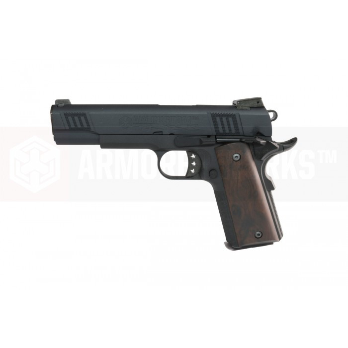 Armorer Works Custom 1911 NE3002 Airsoft Pistol - Black Slide and Black Frame