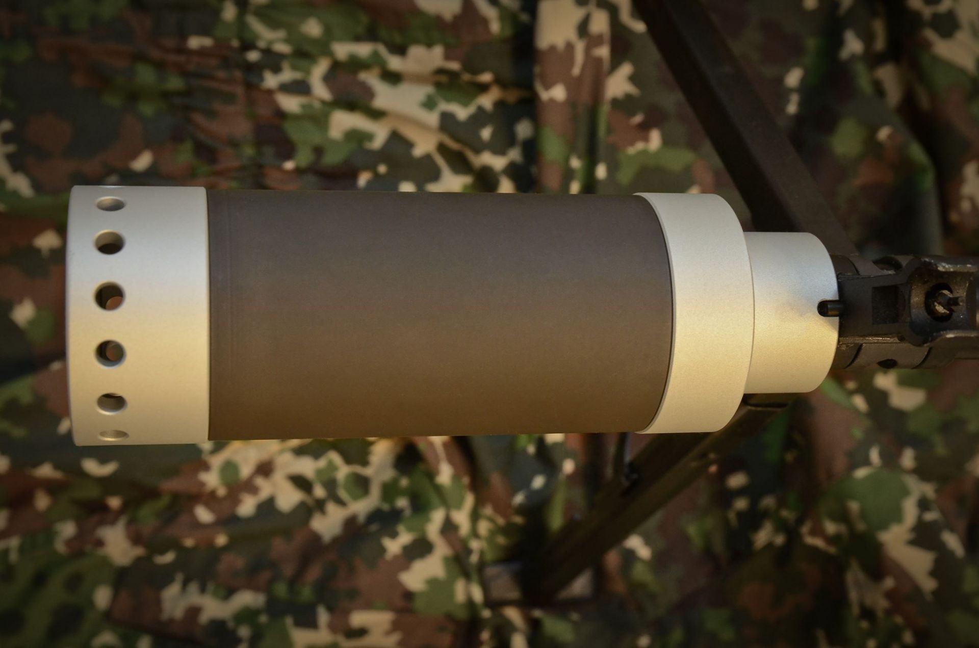 TWI Zentico DTK PUTNIK PKP Steel Grey Suppressor