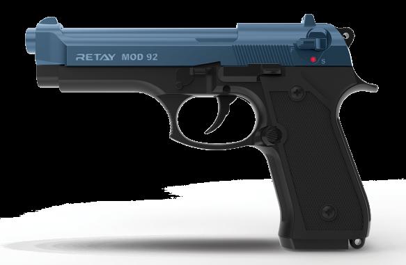Retay Blank Firing 9mm MOD92 (M92) Black/Blue