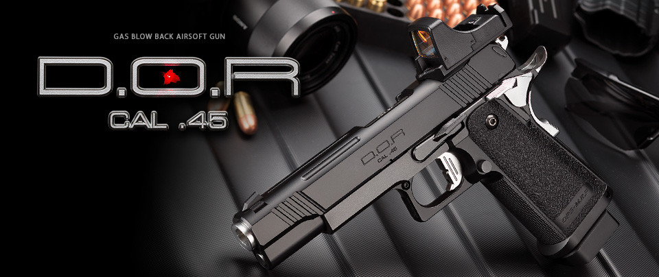 Tokyo Marui Hi-Capa D.O.R. (Direct Optics Ready) Gas Blow-back Pistol