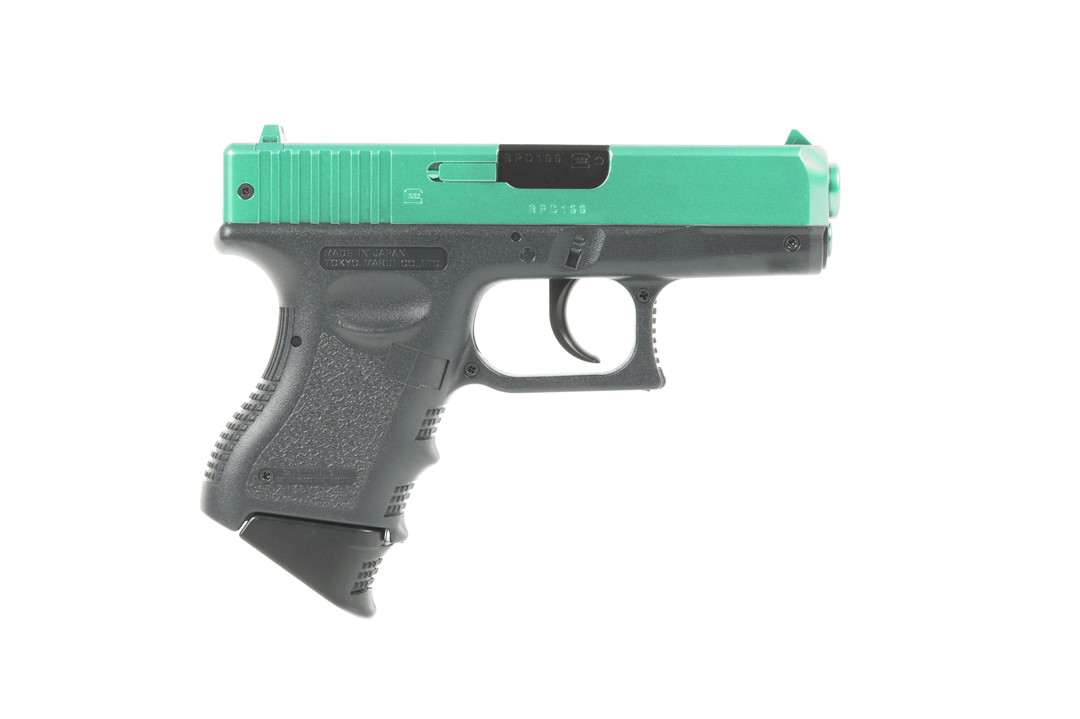 Tokyo Marui Green Two-Tone Glock 26 \'Semi-Auto\' Spring pistol ...