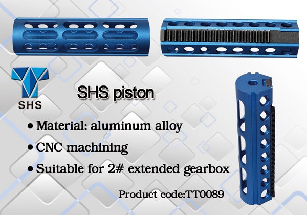 Airsoft Parts CNC Full Steel 19 Teeth Piston for R85//SR25
