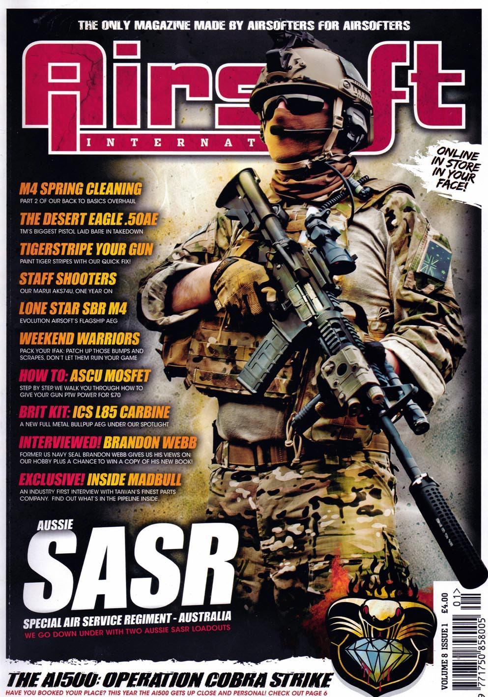 Airsoft International Volume 8 Issue  1 (June 2012)