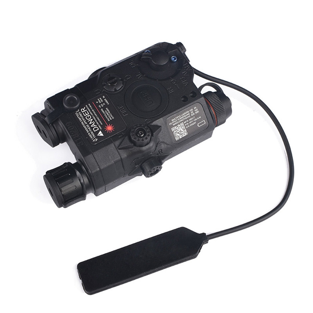 WADSN LA-5C UHP Appearance VER-Green Laser (to zero version) - Black