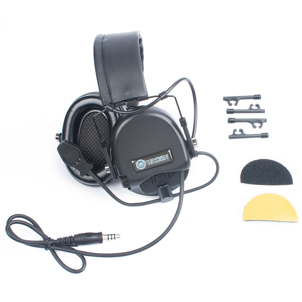 WADSN TEA Release New Hi - Threat Tier 1 Basic Version Headset - Black