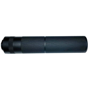 14mm CCW Pistol Suppressor - 155mm Knurled