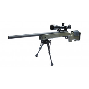 ASG U.S.M.C. M40A3 Airsoft Sniper Rifle - OD Green