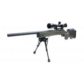 ASG U.S.M.C. M40A3 Airsoft Sniper Rifle - OD Green