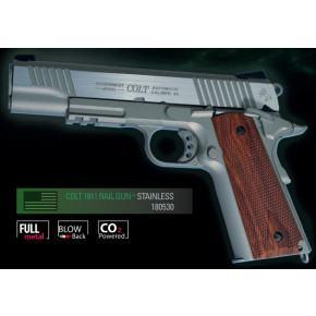 Cybergun Branded KWC 1911 Government Model CO2 GBB Pistol