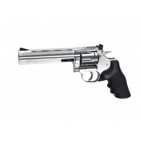"ASG Dan Wesson 715 CO2 Airsoft Revolver - 6"" Barrel - Chrome 'Stainless'"
