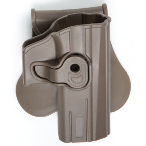 Strike Systems Paddle Holster for the CZ P-07 and CZ P-09 - Full Dark Earth