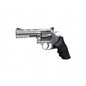 "ASG Dan Wesson 715 CO2 Airsoft Revolver - 4"" Barrel - Chrome 'Stainless'"