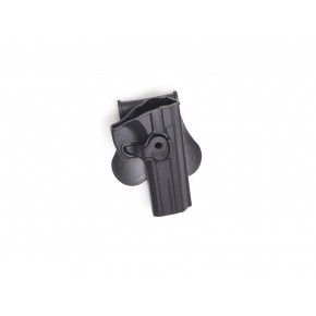 Strike Systems Paddle Holster for SP-01 Shadow and CZ-75 - Black